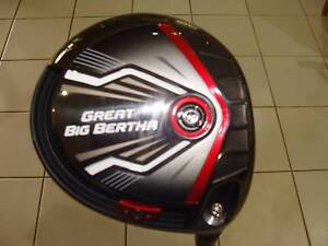 Great Big Bertha Driver 10.5°Graphite Light Terrigal Gosford Area Preview