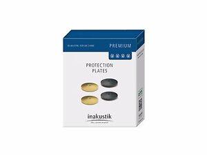 Juego-de-4-DISCS-Plate-para-sistema-absorcion-Inakustik-Serie-Premium-Negro