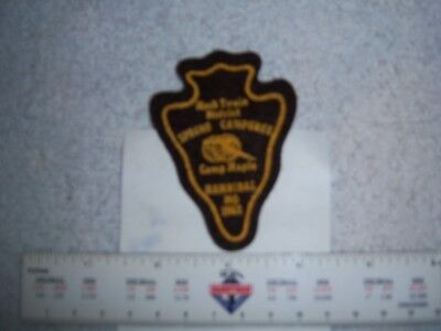 Camp Maple 1962 Boy Scout Camp Patch Great Rivers  Missouri - 30