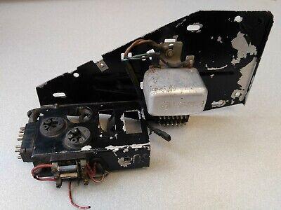 VERY NICE USED ORIGINAL PORSCHE 911T ENGINE BAY RELAY MOUNTING PANEL NLA 1972