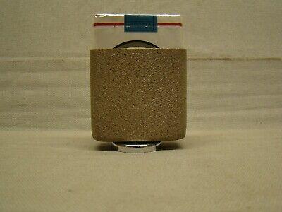 vintage tan / beige hold a pak vintage magnetic bottom cigarette pack holder