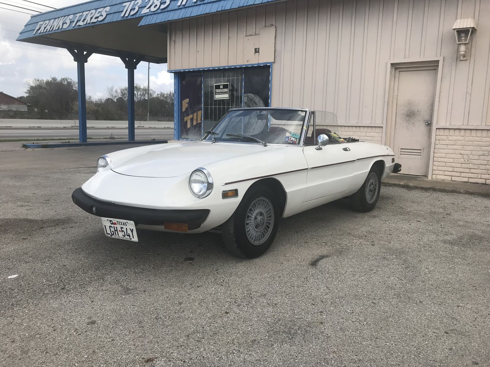 1976 Alfa Romeo Spider veloce 1979 ALFA ROMEO SPIDER VELCON CLASSIC CONVERTIBLE