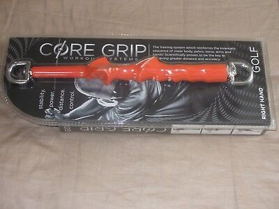 Golf Core Grip Workout System (Right Hand)Longer Stronger,Be The Best You (The Best Golf Grip)