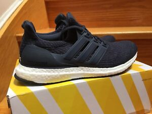 ADIDAS ULTRABOOST NAVY 3.0 & UNCAGED PARLEY BLUE SIZE 8.5