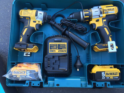 Dewalt power tools brand in Makita case  Casula Liverpool Area Preview