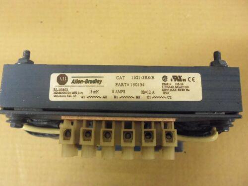 Allen Bradley 1321-3R8-B 3 Phase Line Reactor .3 mH 8 Amp 600v