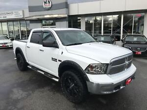 2014 Ram 1500 SLT CREW 4WD 5.7L HEMI LIFTED WHEEL/TIRE PKG
