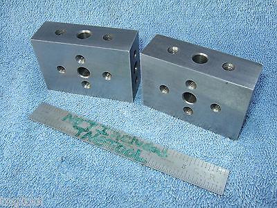 Blocks 2 1.0 X 2 X 3 Machinist Toolmaker Precise Grind Mill Inspect