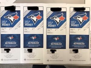 Blue jays tickets 22nd sep
