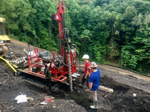 Deep Rock DR-140 Skid Rig Auger/Rotary/Core