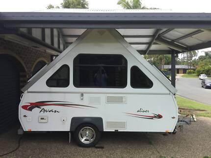 Avan Aliner 2012 as new camper/folding caravan