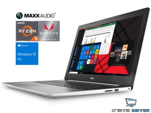 "Dell Inspiron 15.6"" FHD Laptop, Ryzen 5 2500U, 8GB DDR4, 128GB SSD, W10P (WHT)"