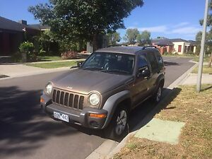 2002 Jeep Cherokee sport 4x4 Epping Whittlesea Area Preview