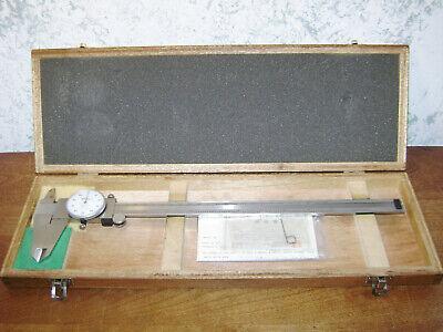 Mitutoyo 12 Inch Dial Caliper No 505-645-50 W Case