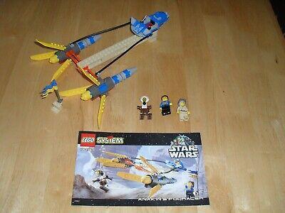 LEGO Star Wars 7131, 1999  Anakin's Pod Racer with instructions no box