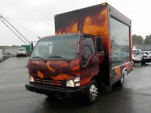 2006 GMC W3500 12 Foot Mobile Advertisement Cube Van Diesel