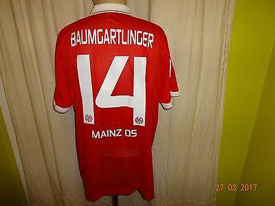 FSV Mainz 05 Nike Spieler/Matchworn Trikot 2014/15 + Nr.14 Baumgartlinger Gr.XL  image