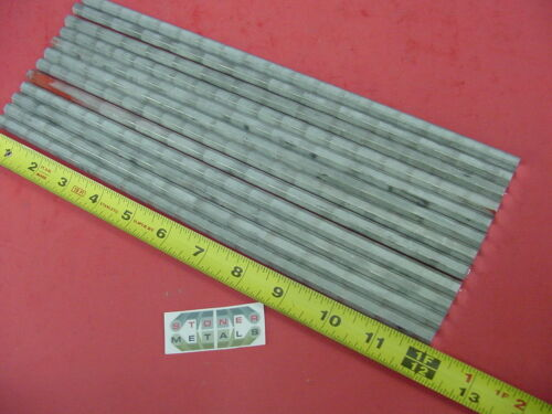 "12 Pieces HEX 5/16"" ALUMINUM 2024 Hex BAR 12"" long T4 SOLID LATHE STOCK .312"""