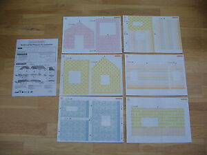 Sylvanian Families Beechwood Hall Wallpaper Set BNew in packet