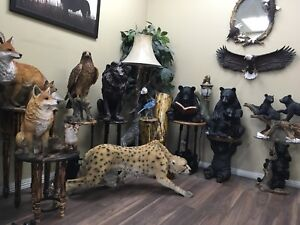 realistic animal statues