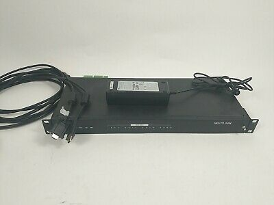 Pelco Enc5516 16-channel H.264 Direct-attached Video Encoder With Power And Data