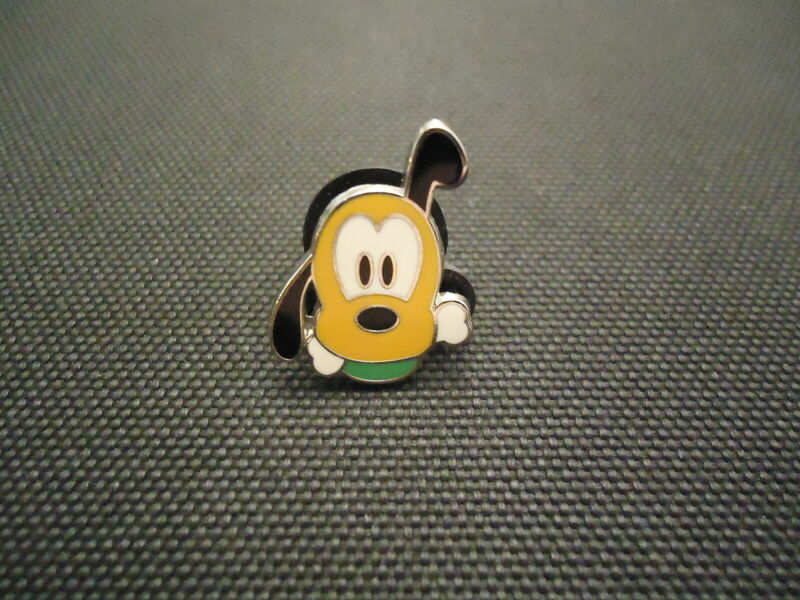 DISNEY WDW MINI PIN COLLECTION CUTE CHARACTERS FACES PLUTO ONLY PIN