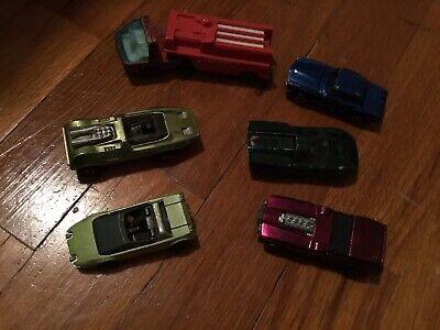 Vintage Redline Hotwheels lot of 6 cars all fillers #12 Lot