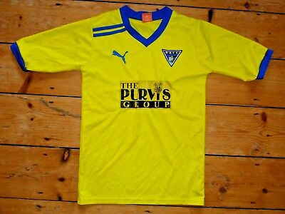 size:S DUNFERMLINE ATHLETIC FC FOOTBALL SHIRT PARS home SOCCER SHIRT 2009 image