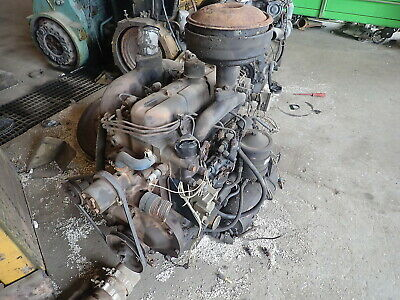 Hercules D198 Diesel Engine Low Hours Runner D-198 Generator Military