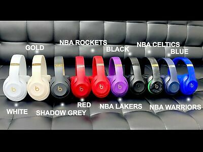 Beats by Dre Studio 3 Wireless Over Ear Headphones NBA LIMITED EDITION Studio3