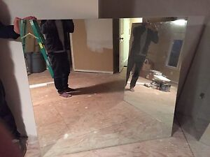 Large Gym/Bathroom Mirror - 5mm thick