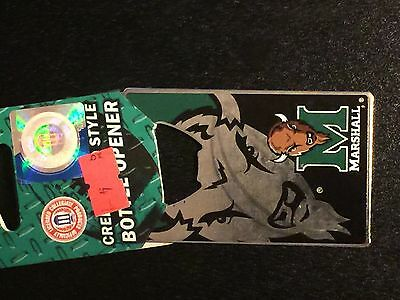 Marshall Thundering Herd Metal Credit Card Style Bottle (Marshall Thundering Herd Bottle)
