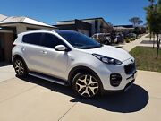 2016 Kia Sportage Platinum SI GT Line Grey Pack SUV Ngunnawal Gungahlin Area Preview