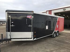 2013 inclosed sled trailer