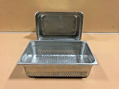 Steam Table Pans Vollrath And Seco Ware Lot Of 2 Commercial Steam Table Pans