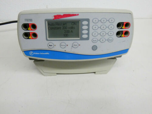 Fisher Scientific FB200 High Current Electrophoresis Power Supply