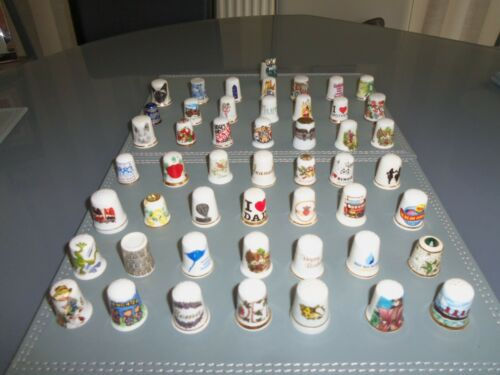 Job lot of Collectable Miscellaneous Collectable China Thimbles