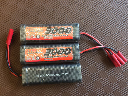 RC batteries for car