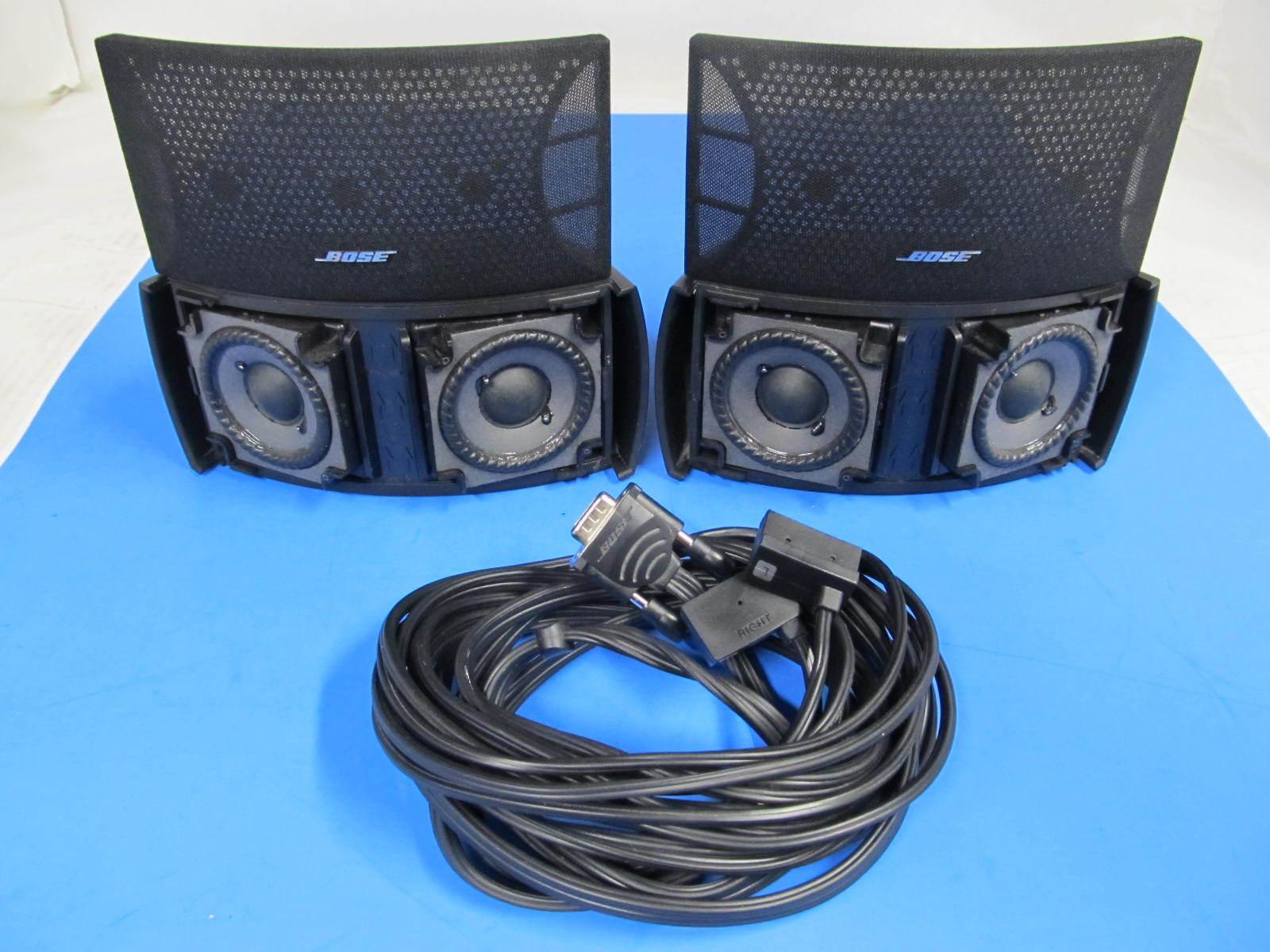Bose 321  Cinemate Series I Ii  U0026 Iii Speakers  Black Pair