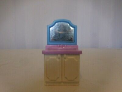 Little Tikes Grand Mansion Dollhouse Bathroom Vanity Sink Blue Purple White