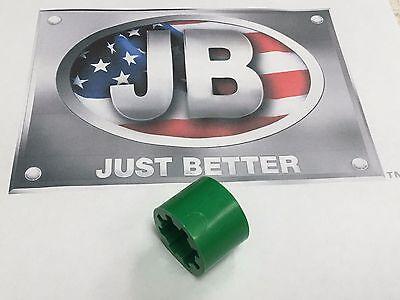 Jb Industries Vacuum Pump Flexible Coupler Drive-section Part Pr208-fs-green