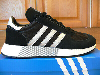 Adidas Originals Marathon Trainers - Black Size 10
