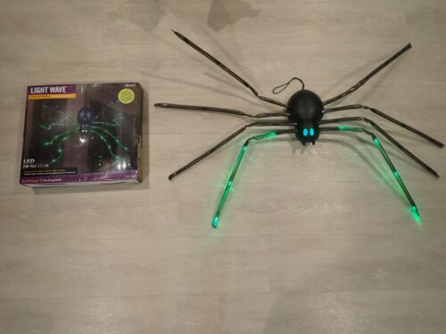 Gemmy Light Wave Led Halloween Spider