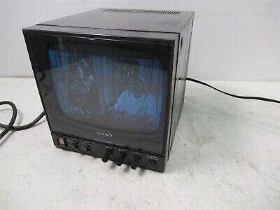 "Sony PVM-91 Video Monitor 9"" Inch Monochrome Black/White CRT 800 Lines Studio"