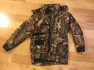 Browning winter camo jacket men's Small