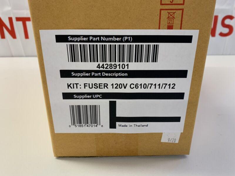 OKI Pro 711WT C711 C712 C610 120V Fuser Unit, New Unopened 44289101
