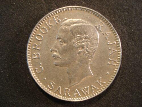 1900-H Sarawak 20 Cents