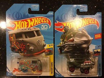 2018/ 2019 Hot Wheels Kool Kombi & Bazoomka Treasure Hunt