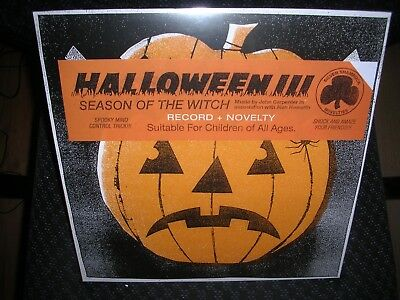 Halloween III: Season of the Witch **Soundtrack **NEW COLORED RECORD LP - Halloween Vinyl