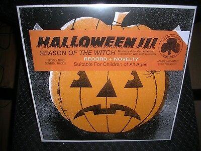 Halloween III: Season of the Witch **Soundtrack **NEW COLORED RECORD LP - Halloween Iii Vinyl